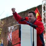 saluto dei comunisti spagnoli